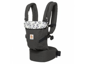ERGObaby ADAPT Graphic Grey + DÁREK