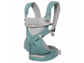 ERGObaby 360 Cool Air - Icy Mint  + šátek Aura Wrap ErgoBaby
