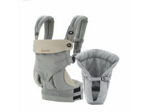 ERGObaby Set Bundle of Joy 360 Grey  + Zavinovačka ErgoBaby Swaddler