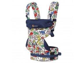 ERGObaby 360 Keith Haring - Pop  + 1 pár návlečků na nožičky