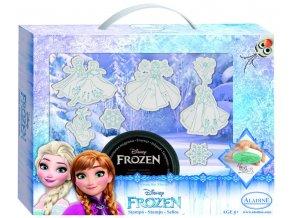Aladine Disney kufřík s razítky - Ledové království