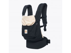 ERGObaby carrier Original Black & Camel + DÁREK