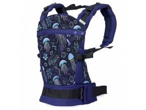 v liliputi buckle carrier rainbow line deep blue 3006