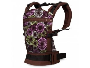 v liliputi buckle carrier rainbow line lavendering 2628