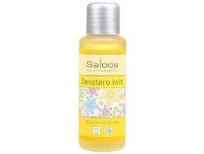 Saloos tělový a masážní olej Devatero kvítí