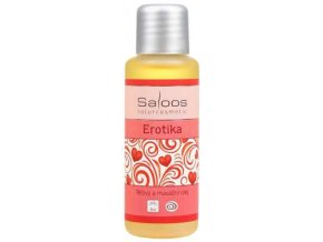 Saloos tělový a masážní olej Erotika