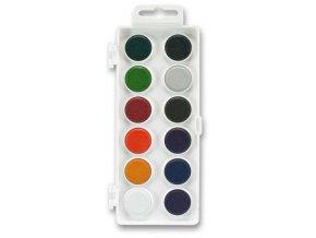 Vodové anilinové barvy, 12 barev