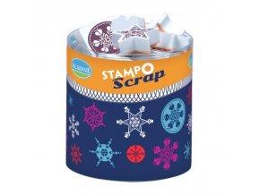 Aladine StampoScrap - Sněhové vločky