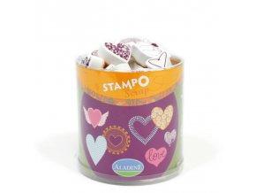 Aladine StampoScrap - Srdíčka
