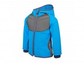 Unuo - Softshellová bunda s fleecem - Tyrkysová (obrázek Evžen)