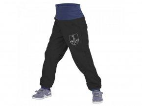 Unuo - BATOLECÍ Softshellové kalhoty s fleecem - Černé (Obrázek Evžen)