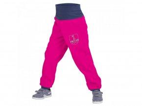 Unuo - BATOLECÍ Softshellové kalhoty s fleecem - Fuchsiové (Obrázek Evžen)