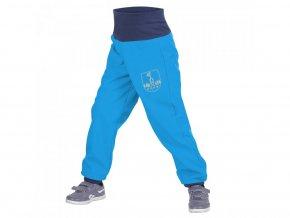 Unuo - BATOLECÍ Softshellové kalhoty s fleecem - Tyrkysové (Obrázek Evžen)