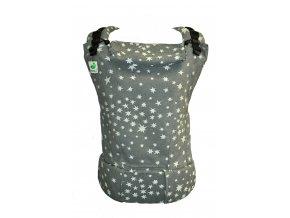 MoniLu UNI Stone Stars  + slintáčky MoniLu v designu nosítka