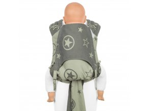 flyclick plus baby carrier classic outer space reed green