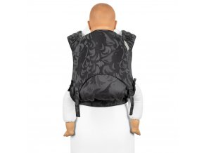 fidella flyclick plus baby carrier classic wolf anthracite