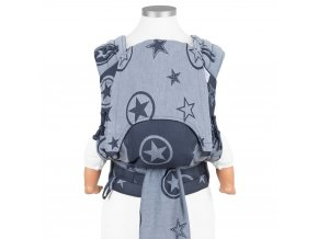 flyclick baby carrier classic outer space blue