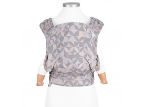 fidella flyclick baby carrier classic kaleidoscope sand