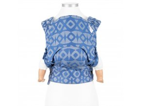 fidella flyclick baby carrier classic night owl smooth blue