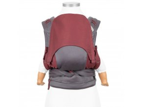 fidella flyclick baby carrier classic lines red