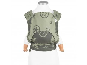 flyclick baby carrier classic outer space reed green