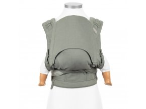 flyclick halfbuckle baby carrier chevron agave green baby