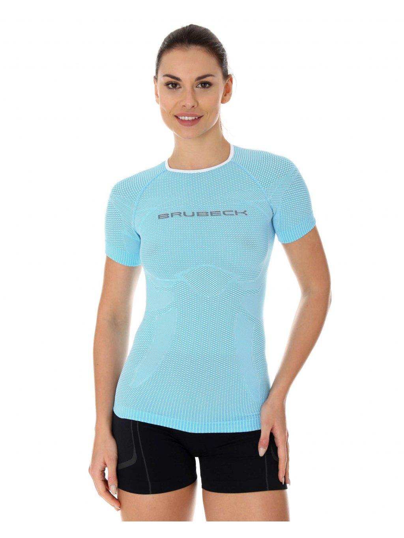 Brubeck dámské tričko krátký rukáv 3D Run PRO Athletic