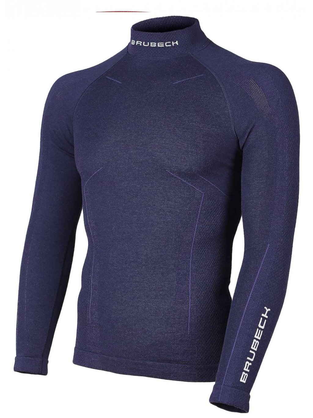 Brubeck pánské tričko s dl. rukávem WOOL MERINO