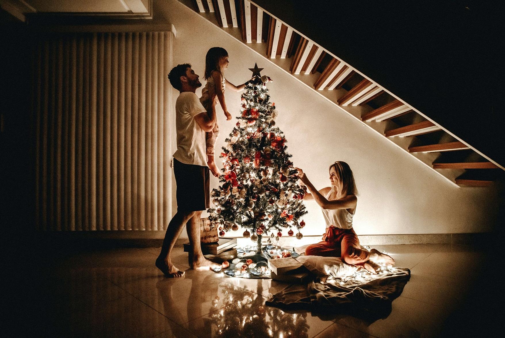 Jak se obléct k vánočnímu stromečku?