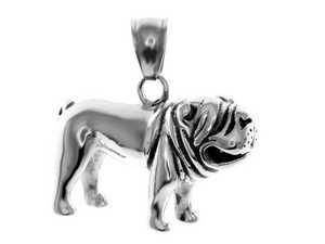 Přívěsky psi z chirurgické oceli