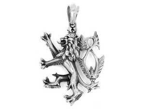 Přívěsky lvi z chirurgické oceli