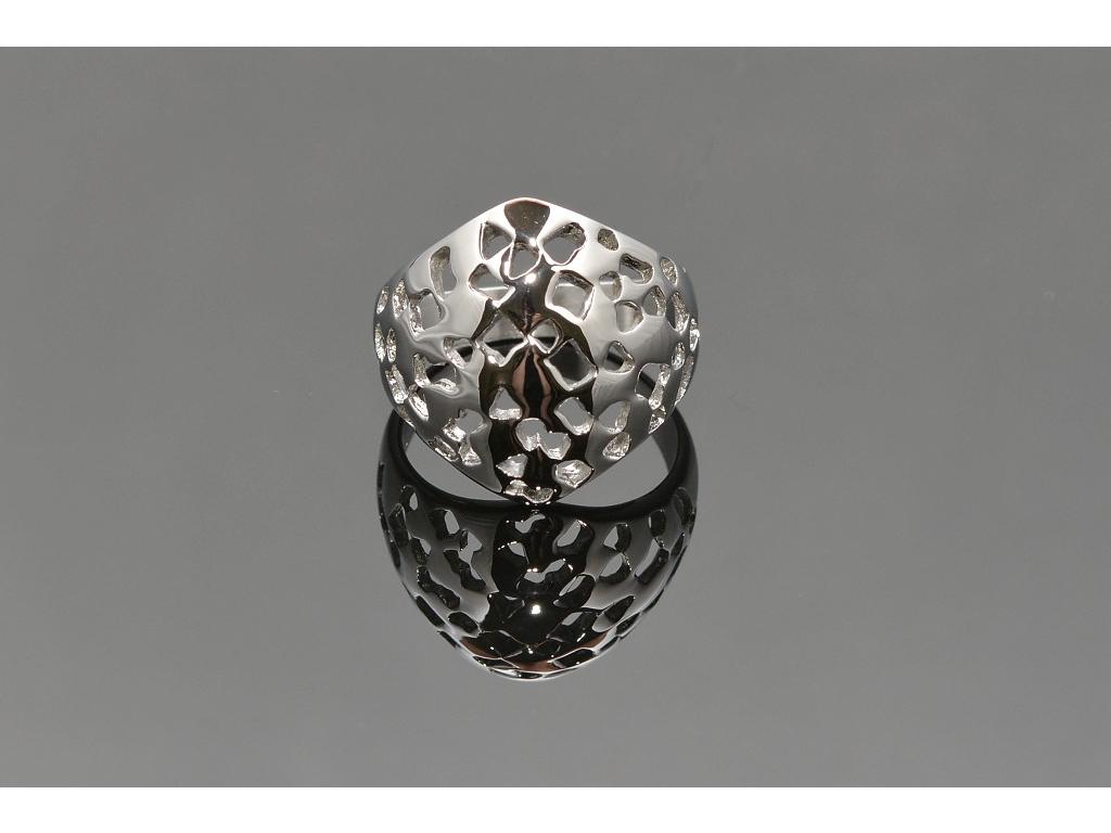S0817 TOP Masivní prsten z chirurgické oceli