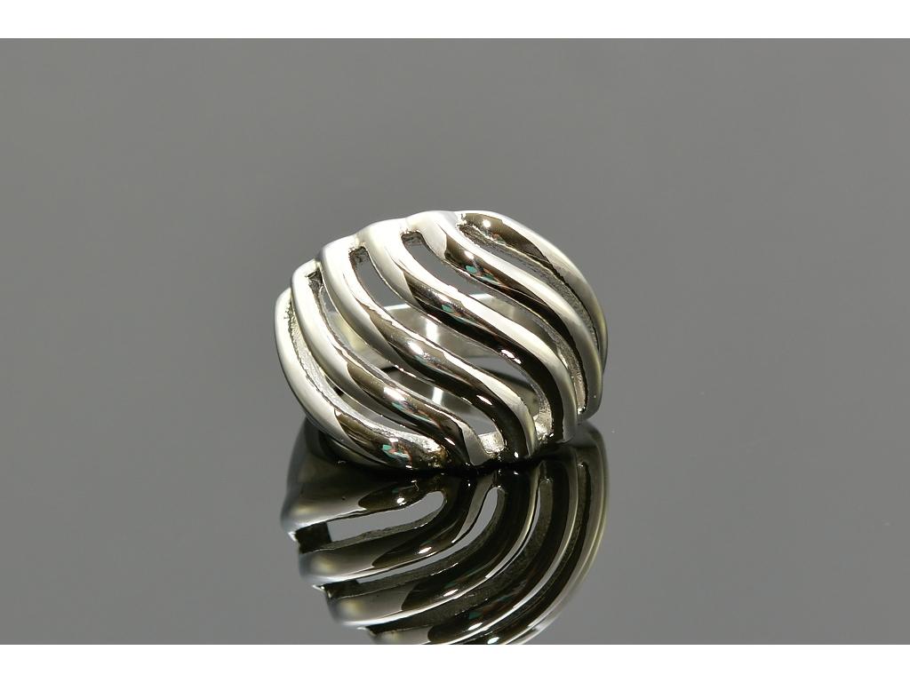 S1358 Masivní prsten z chirurgické oceli