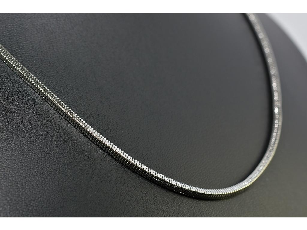 S1408 Hranatý řetízek z chirurgické oceli 49/0,25 cm