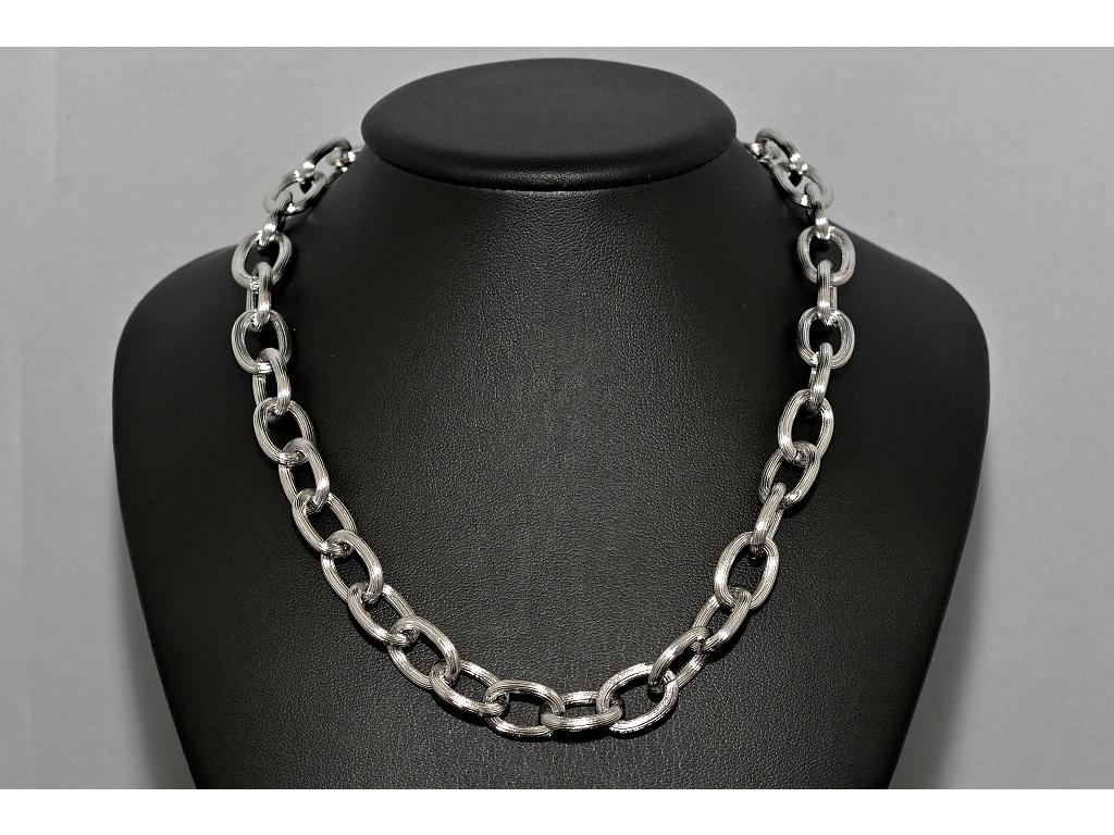 S0609 Odlehčený řetěz z chirurgické oceli 58 cm