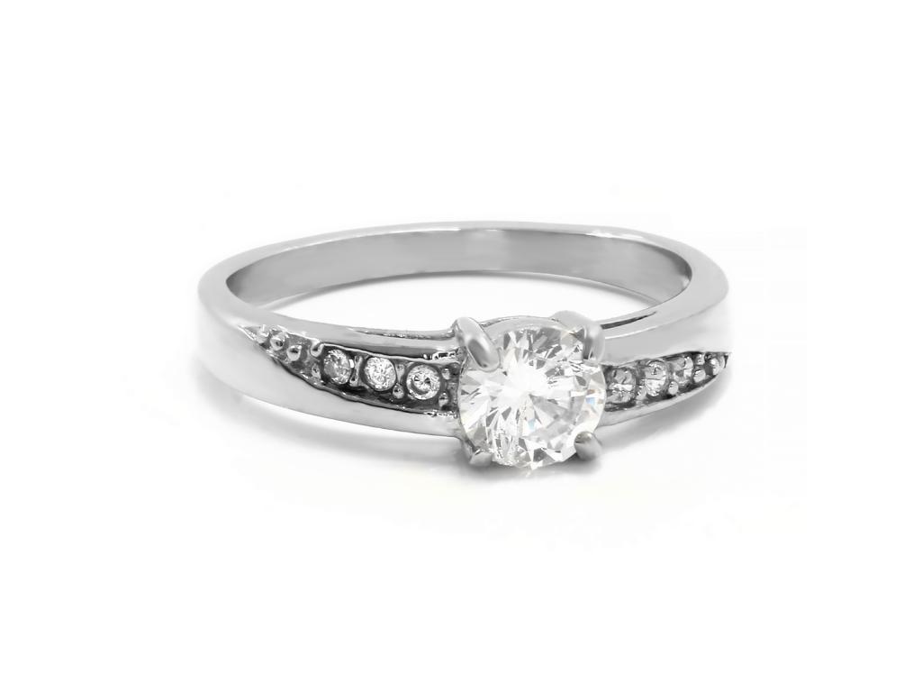 S2740 Nádherný kamínkový prstýnek