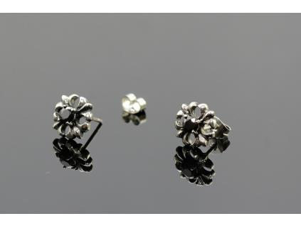 S1617 Náušnice MYSTIC BLACK z chirurgické oceli