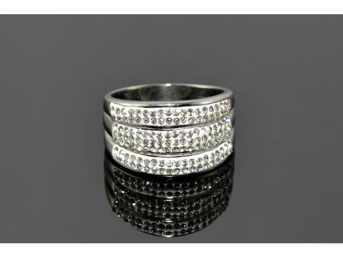 S0871 Třpytivý prstýnek z chirurgické oceli