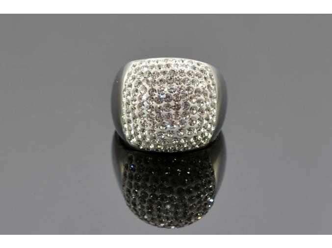 S1149 Dámský prsten posetý krystalky
