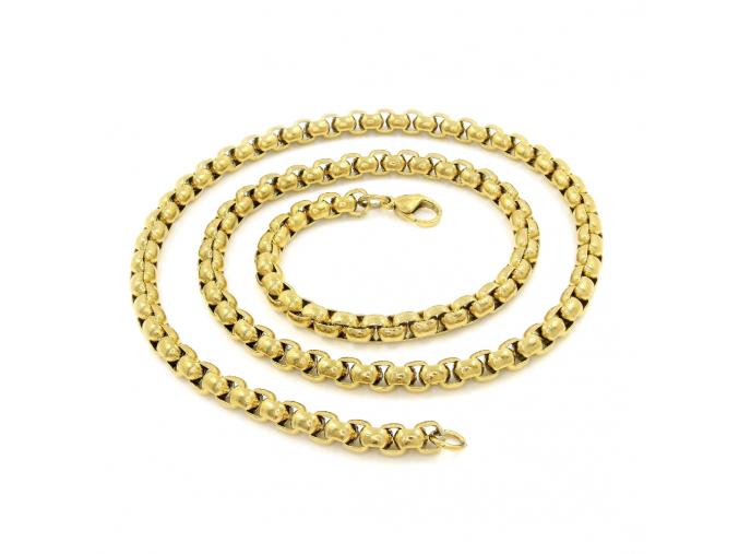 S1168 Řetízek BRUNO GOLD 60/0,5 cm