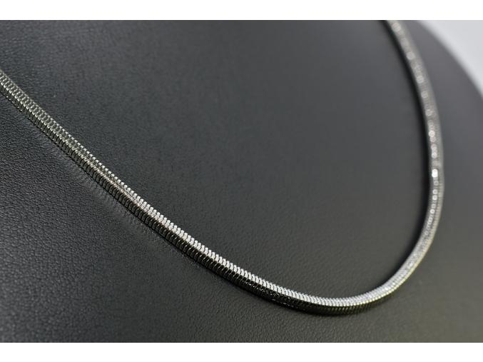 S1408 Hranatý řetízek z chirurgické oceli 49/0,25cm
