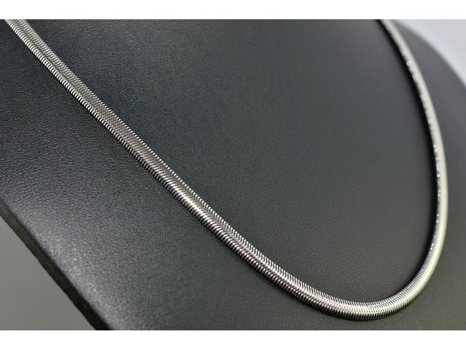 S1407 Hladký řetízek z chirurgické oceli 50/0,4 cm