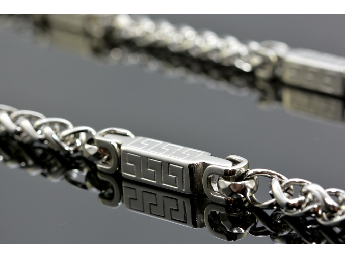 S1405 Atypický řetěz z chirurgické oceli 60/0,8cm