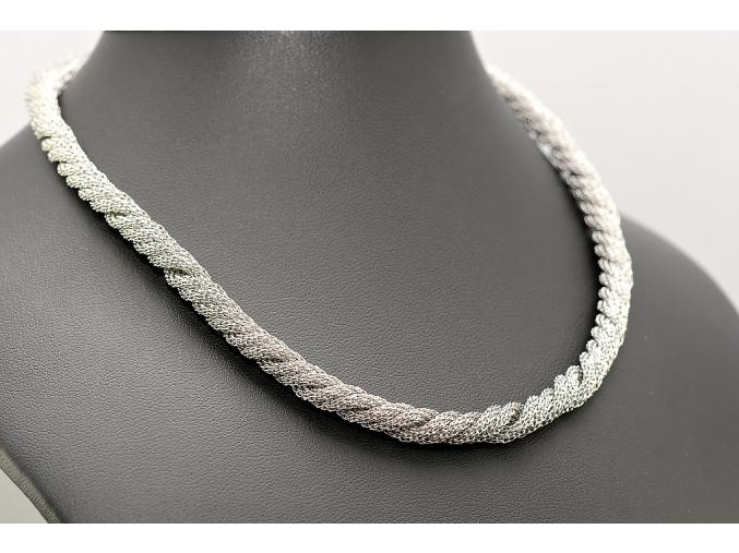 S1647 Dámský náhrdelník z chirurgické oceli 45/0,5cm