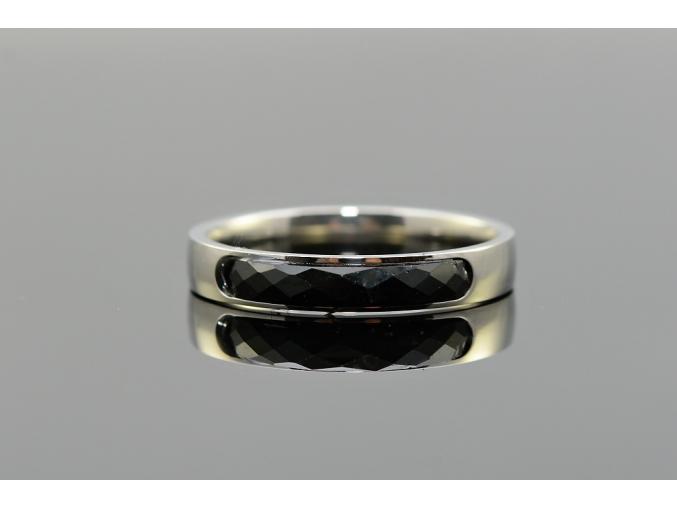 S1662 Prsten BLACK z chirurgické oceli