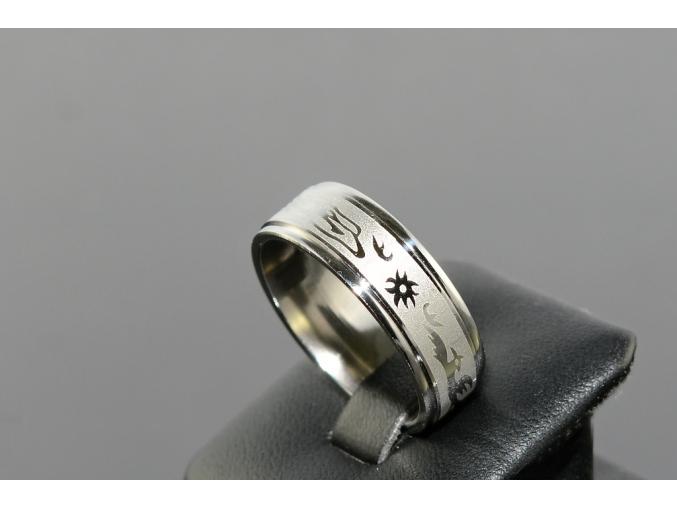 S1670 Prsten DRAK z chirurgické oceli