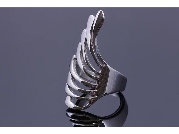 S0688 Extravagantní prsten z chirurgické oceli