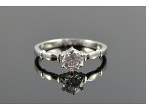 S1240 Prstýnek s krystalkem