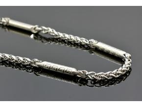 S1403 Atypický řetěz z chirurgické oceli 59/0,8cm