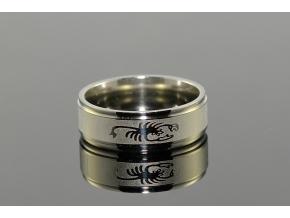 S1671 Prsten ŠTÍR z chirurgické oceli